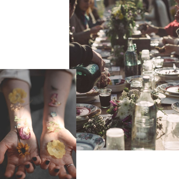 flowers and dinner.jpg